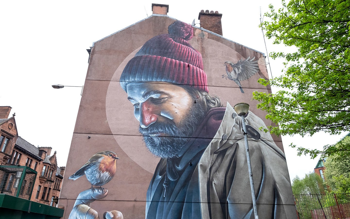 Artwork on Glasgow's City Centre Mural Trail