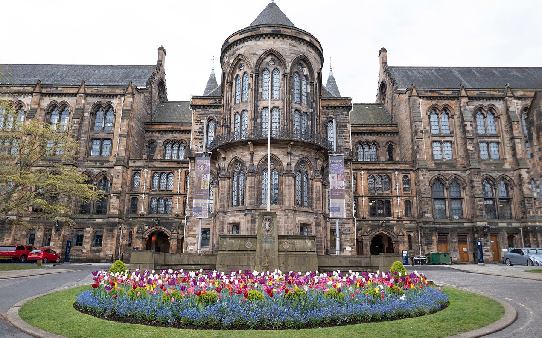 Glasgow University campus