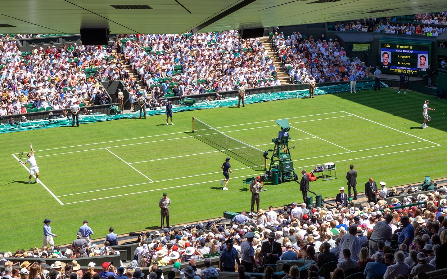 Centre Court at Wimbledon Tennis Championships