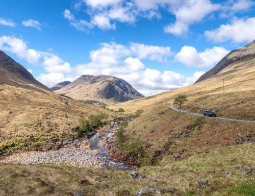 Glen Etive road: One of Scotland's most beautiful drives