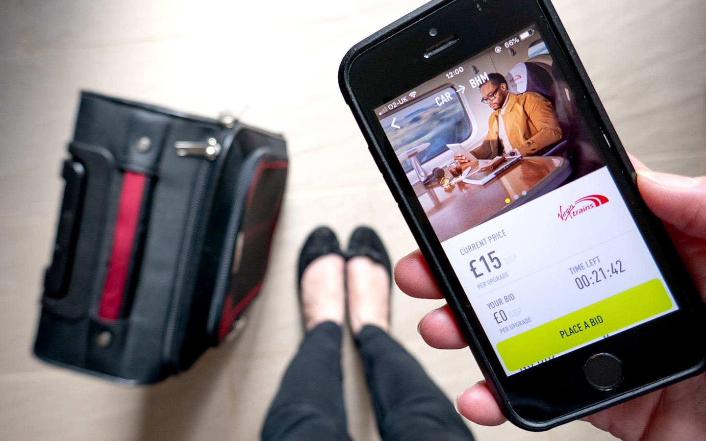 Luxury for less: First-Class train upgrades with Seatfrog – On