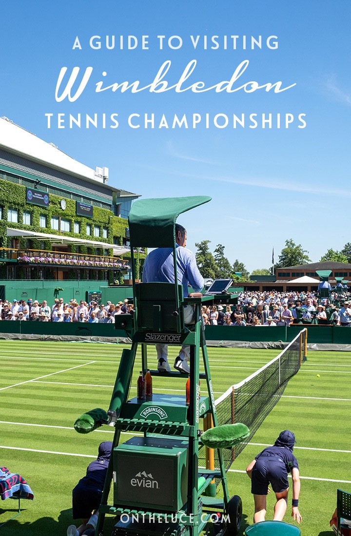A guide to visiting Wimbledon Tennis Championships in London – everything you need to know, from how to get tickets to what to wear and bring with you. #London #tennis #Wimbledon