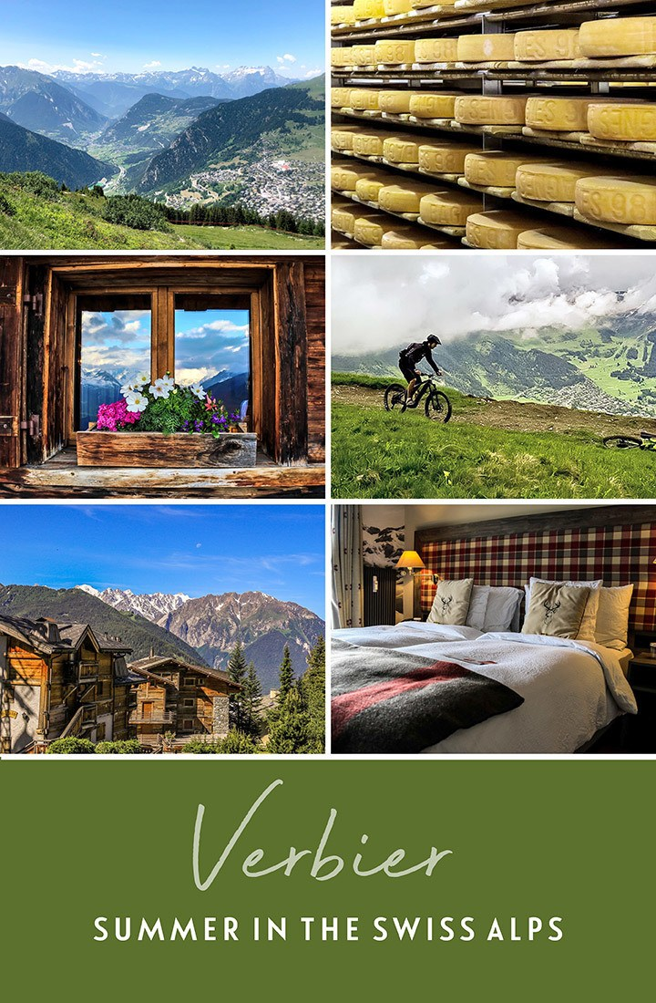 Summer in Verbier in the Swiss Alps – things to do in the ski resort of Verbier, Switzerlans, in the summer months, including hiking, ebiking, mountain yoga, spas, food and drink tours | Summer in Verbier | Summer in the Swiss Alps | Verbier Switzerland | Things to do in Verbier | Summer in the Alps