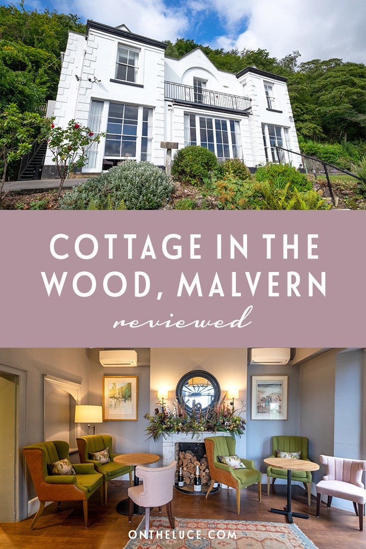 Delicious food and stunning views on a boutique break at the Cottage in the Wood country house hotel in the Malvern Hills in Worcestershire, England. #England #Malvern #hotelreview