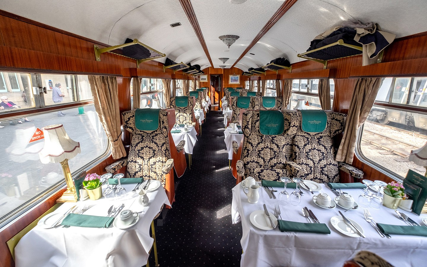 The Pullman Dining carriage