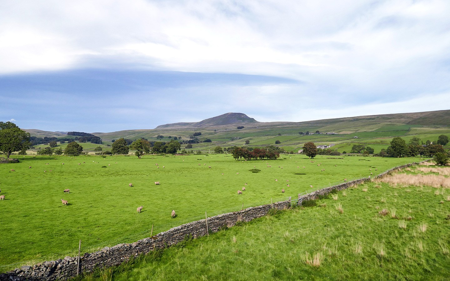 Views along the Settle to Carlisle Railway route