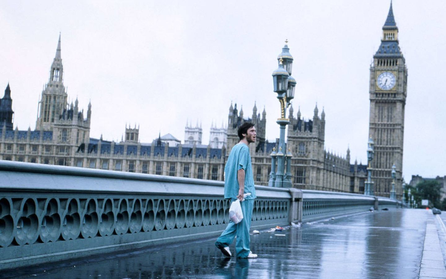 Westminster Bridge in the film 28 Days Later