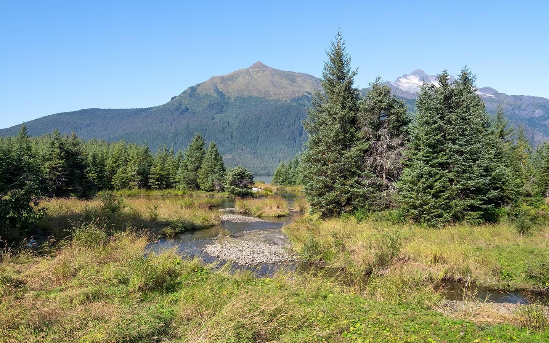 Unspoilt Alaskan scenery