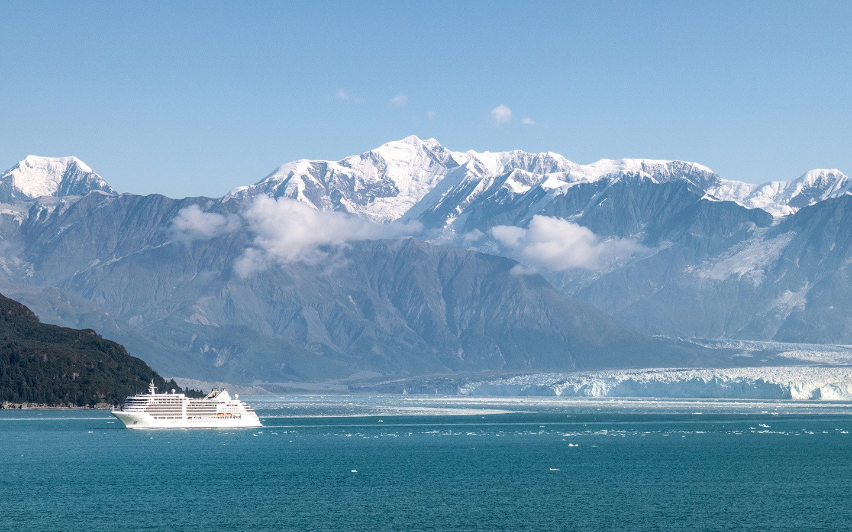 Alaskan mountain peaks