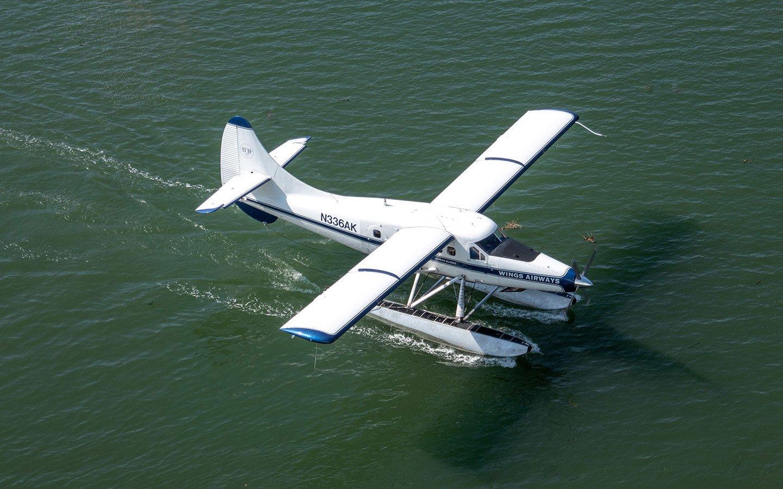 Float plane in Juneau