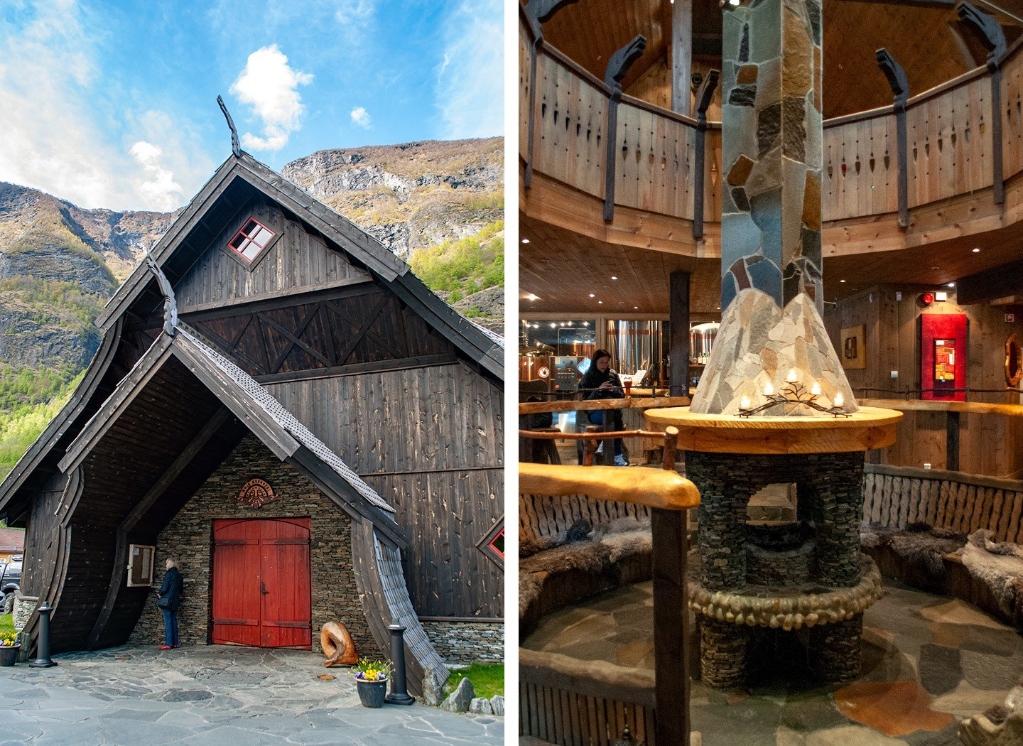 The Ægir brewery in Flam, Norway