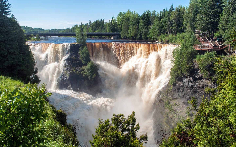 Waterfall at Kakabeka Falls Provincial Park, Ontario