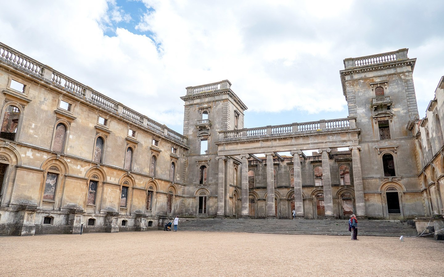 Witley Court's North Portico