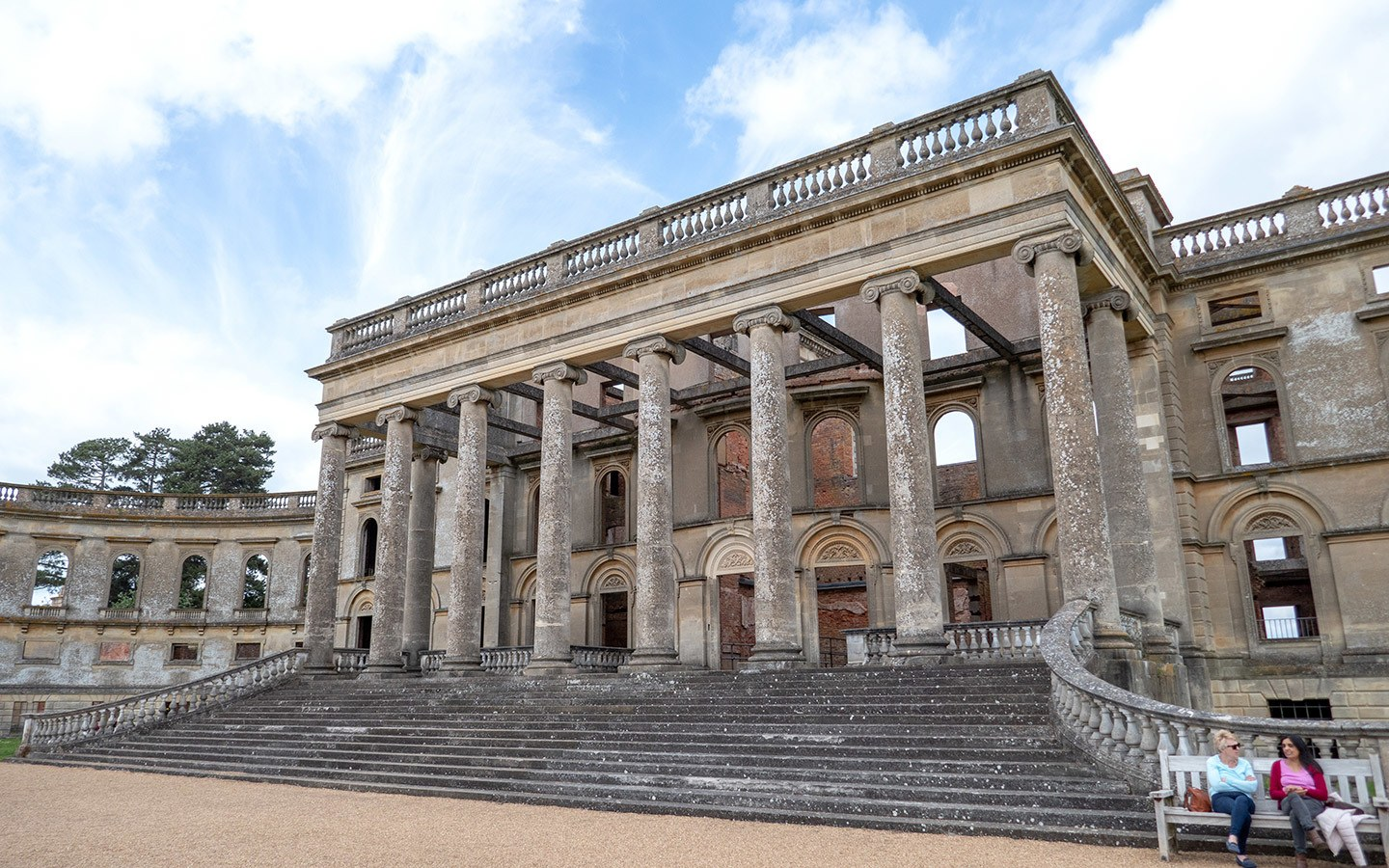 Witley Court's South Portico