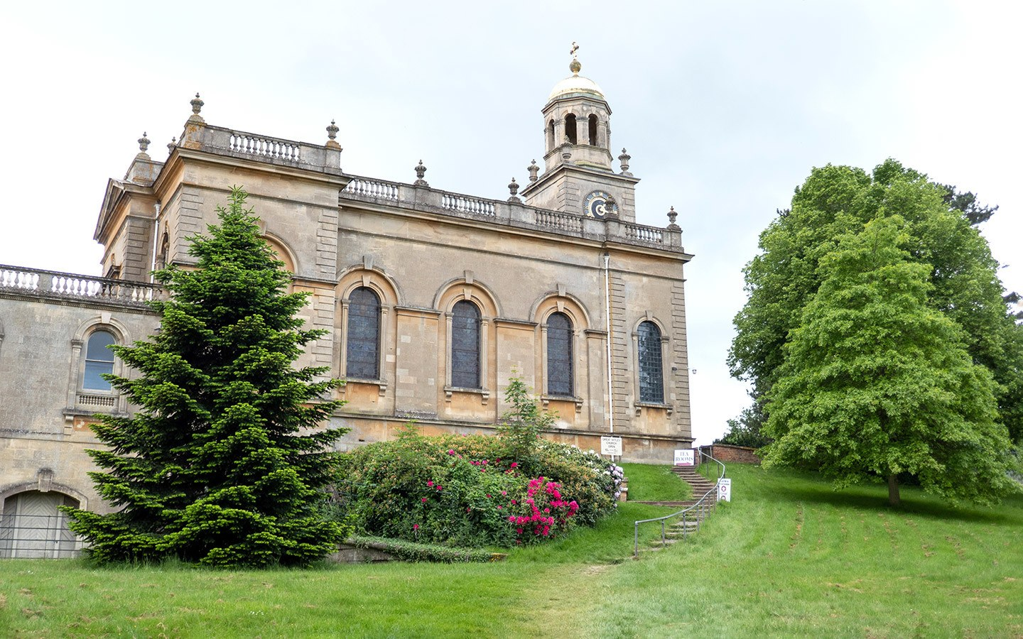 The exterior of Great Witley Church in Worcestershire