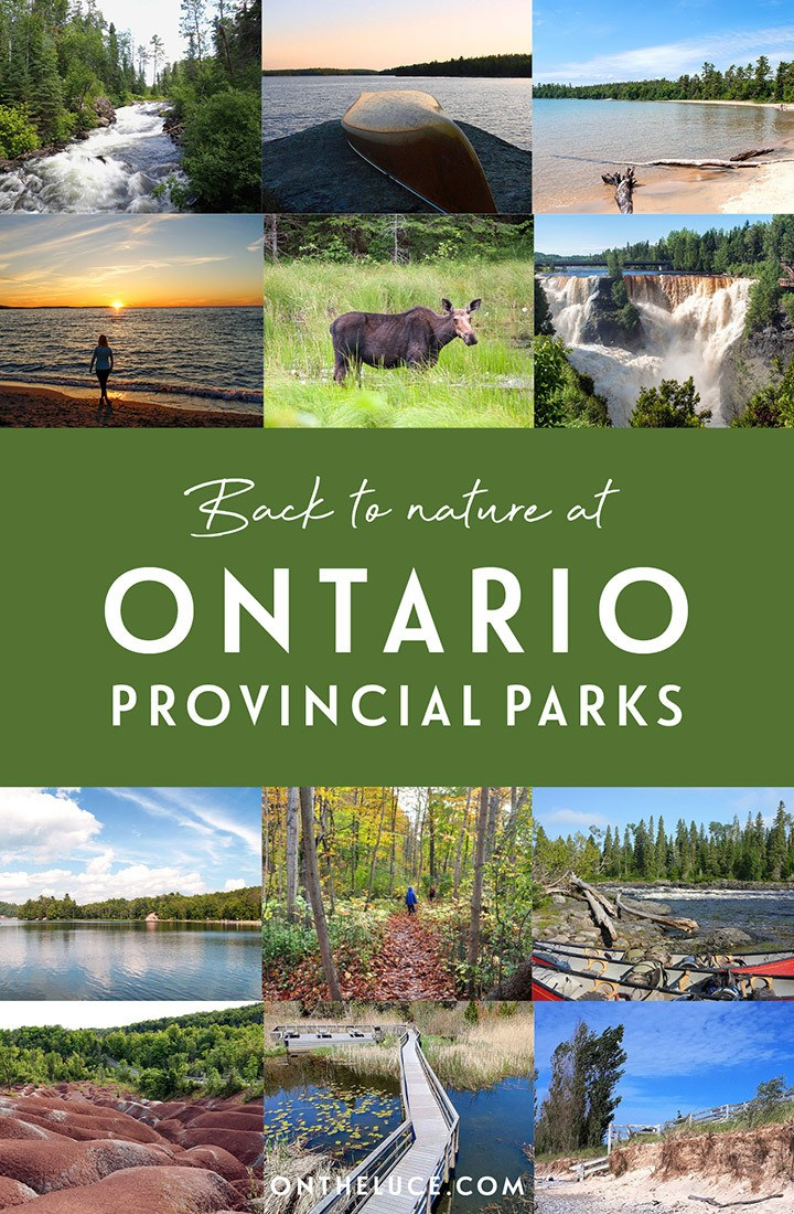16 of the best Provincial Parks to visit in Ontario, Canada – highlighting the Province's stunning scenery, from lakes the size of seas and dense pine forests, to sandy beaches and thundering waterfalls | Ontario Provincial Parks | Outdoors in Ontario | #canada #ontario #explorecanada