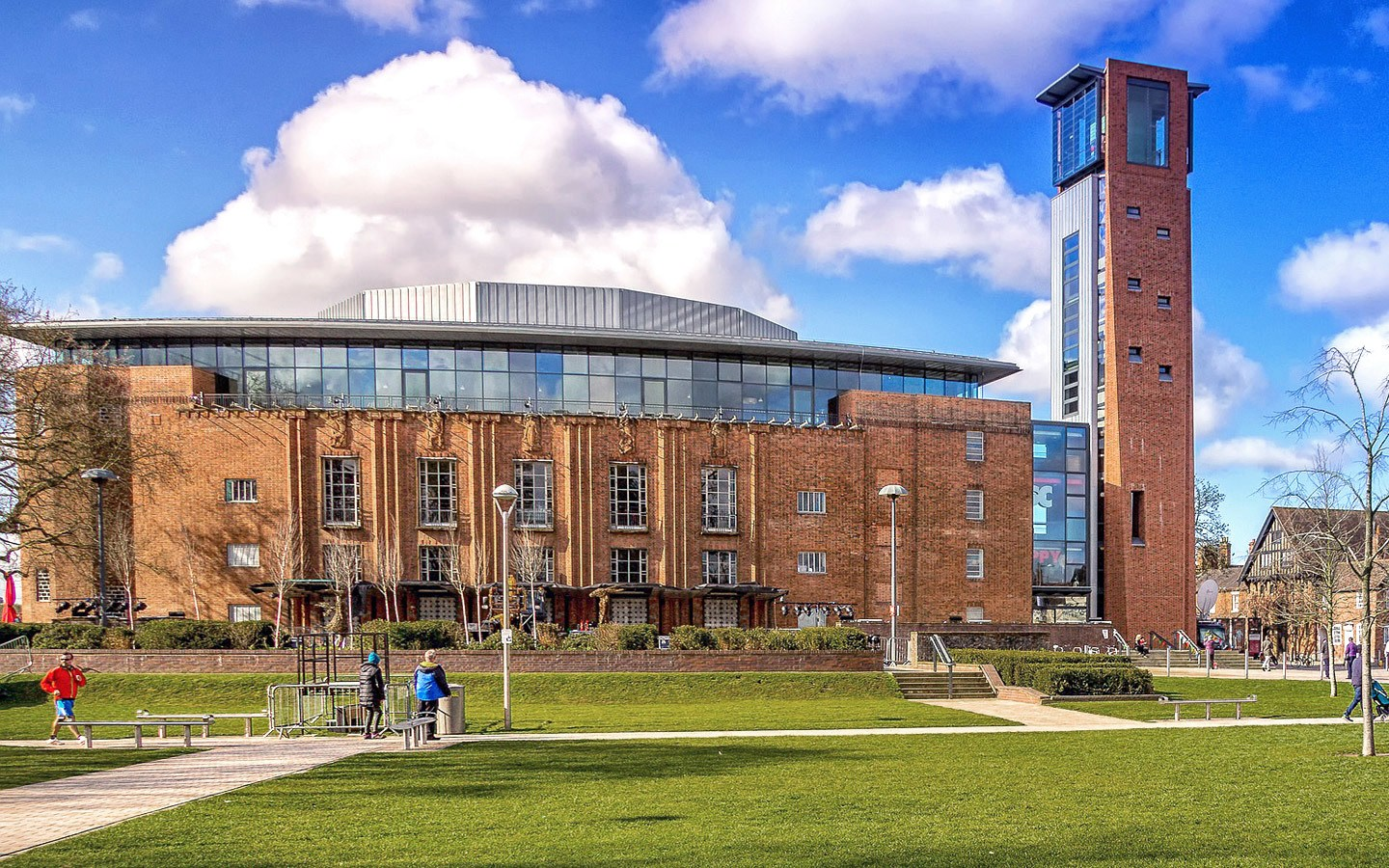 The Royal Shakespeare Company theatre in Stratford-upon-Avon, England
