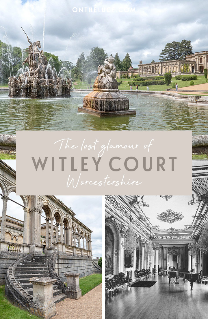 The lost glamour of Witley Court and Gardens, Worcestershire – a lavish English Heritage country house left ruined by fire which makes a great UK day trip | Days out in England | English Heritage sites | Things to do in Worcestershire