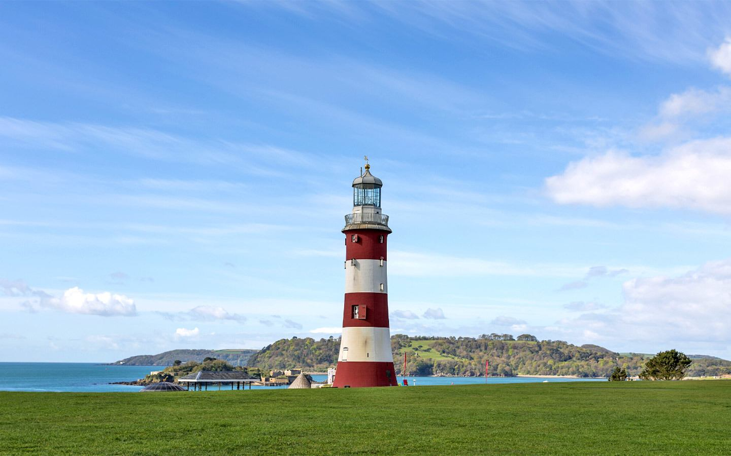 Smeaton's Tower lighthouse in Plymouth