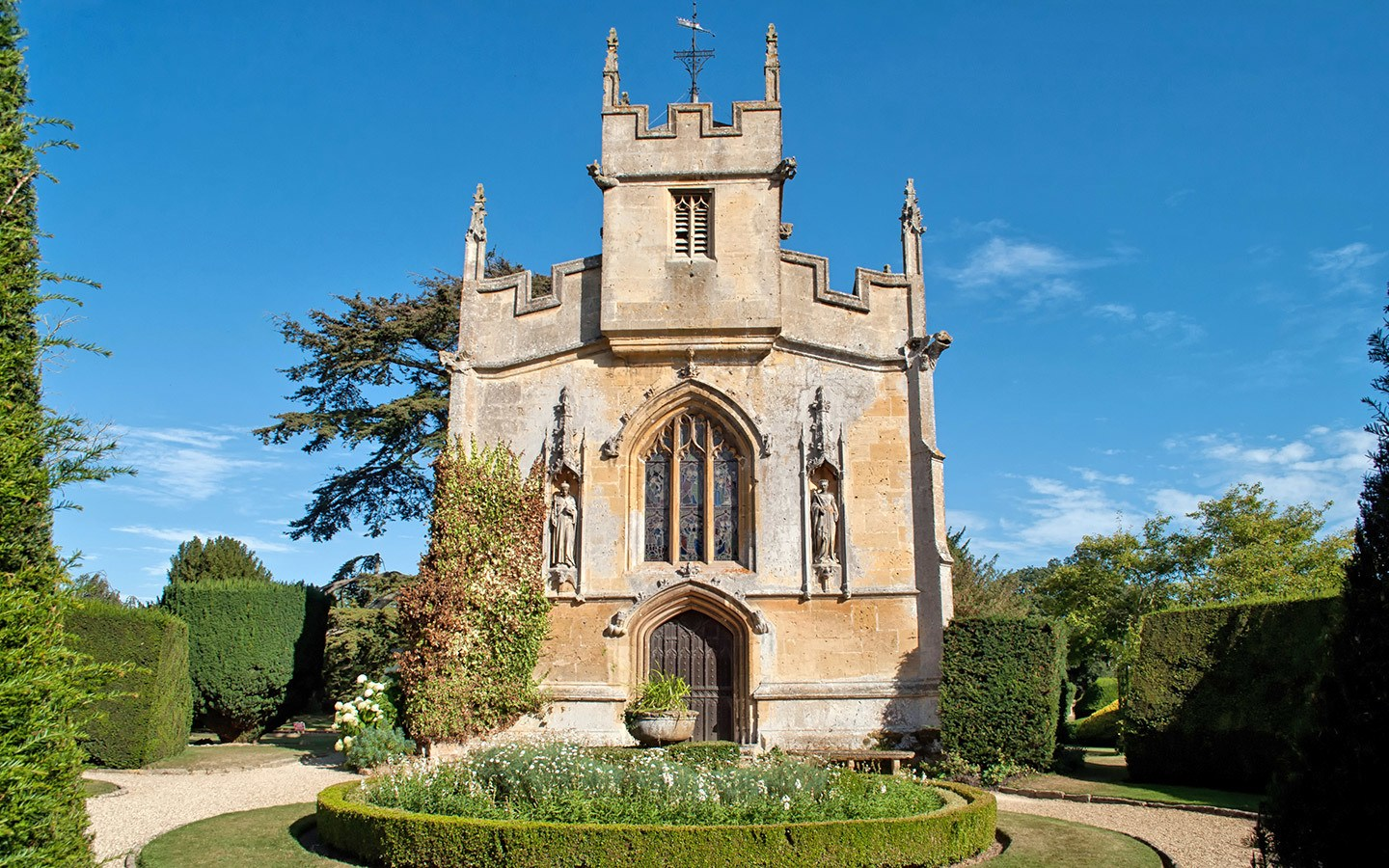 St Mary's Church at Sudeley Castle in the Cotswolds