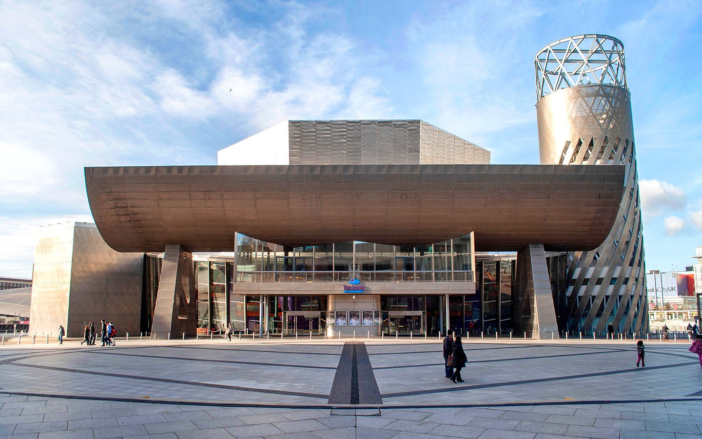 The Lowry Centre in Manchester's Salford Quays