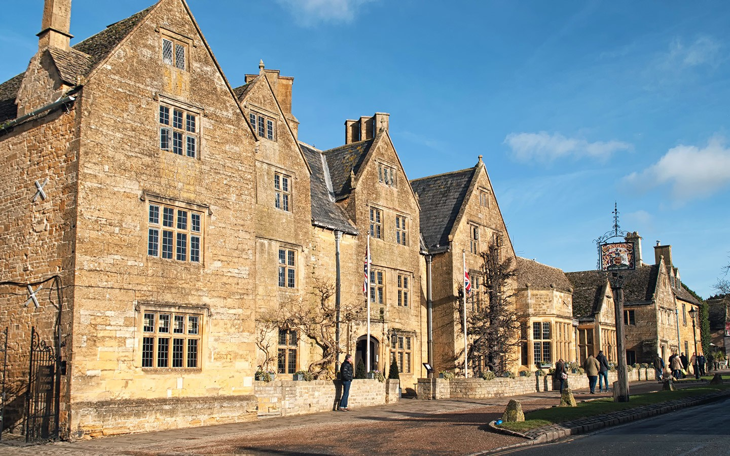 The Lygon Arms in Broadway on a weekend in the Cotswolds