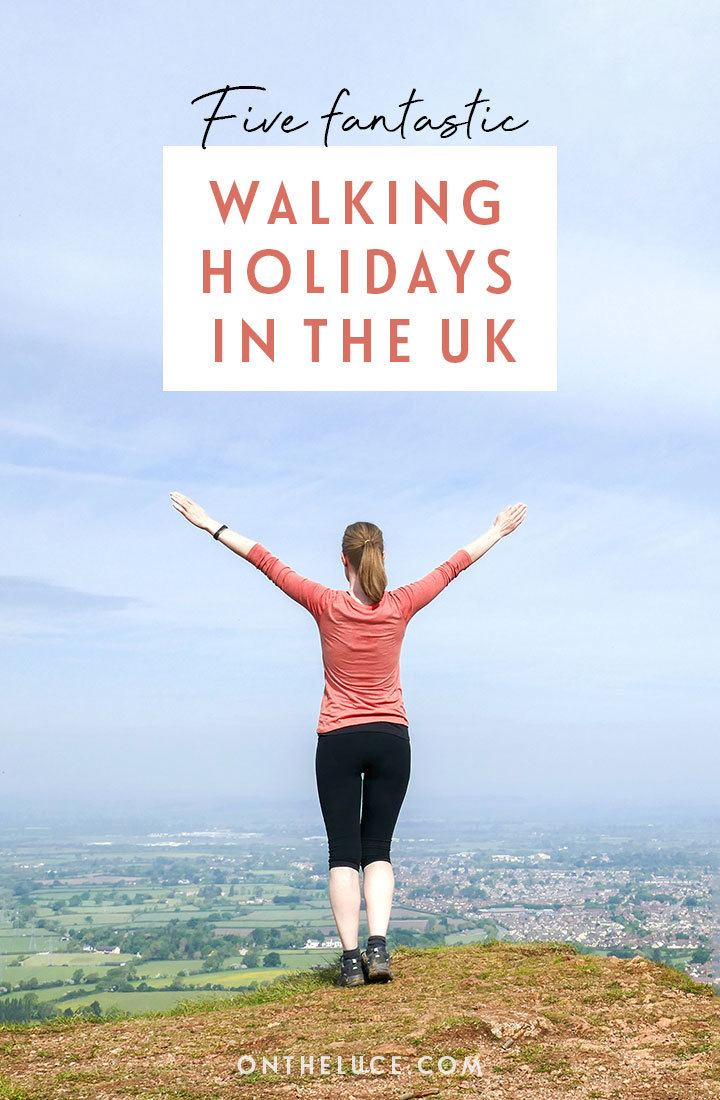 Five fantastic ideas for a UK walking holidays, including the coast paths of North Norfolk, the Scottish Borders and Tweed Valley, and Northumberland's castles and coastline – find out the details of these self-guided UK walking vacations | UK walking holidays | Self-guided walking holidays | Walking holidays in the UK