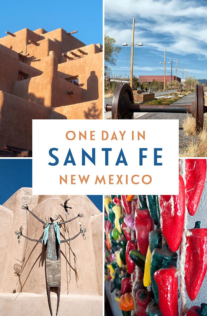 Things to do in Santa Fe, New Mexico – a one-day itinerary for visiting the 'city different' featuring art and architecture, history and culture, food and drink | Things to do in Santa Fe | Santa Fe itinerary | Santa Fe New Mexico | Southwest USA