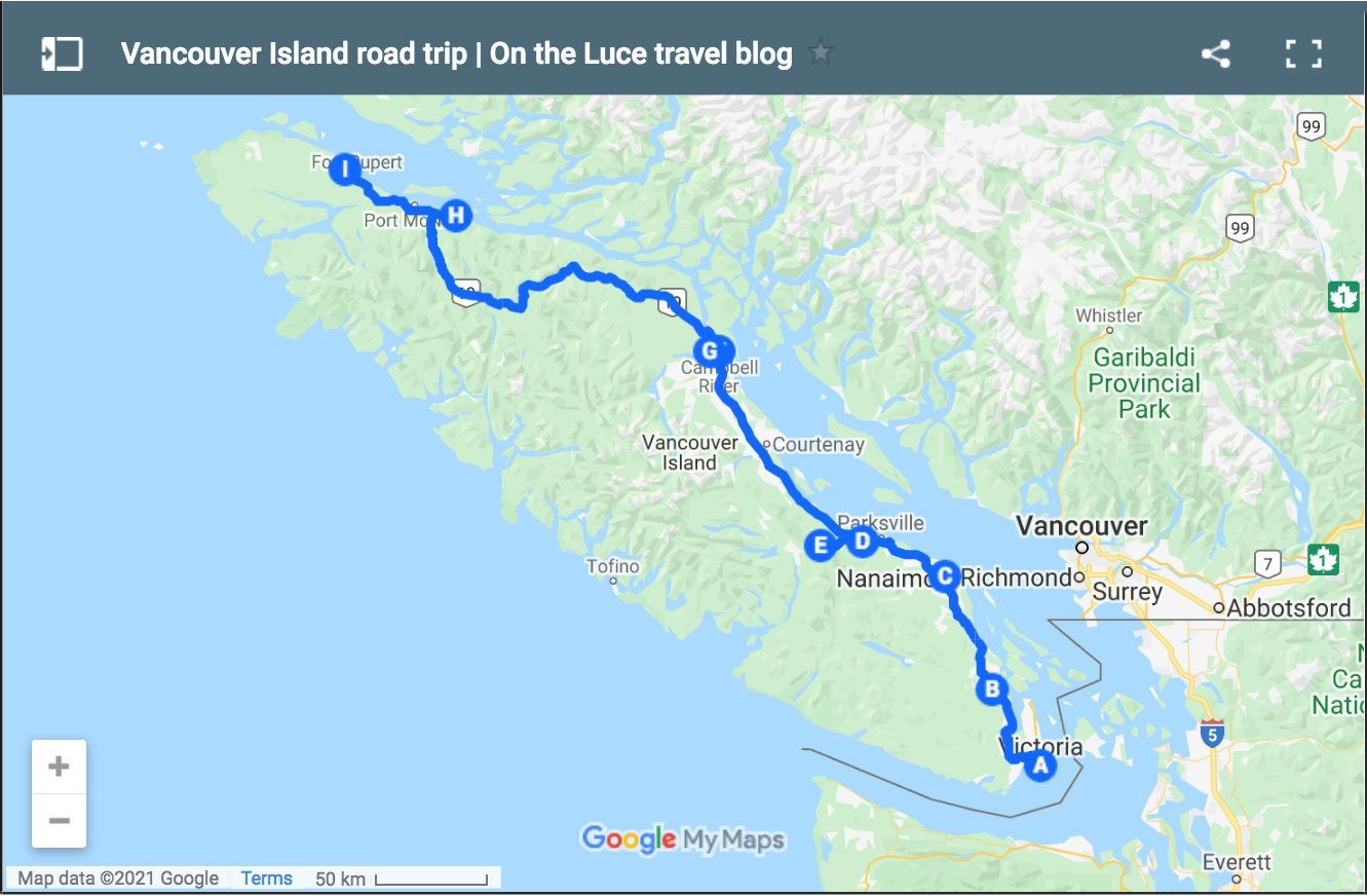 A Vancouver Island road trip, Canada: From the tip to the top