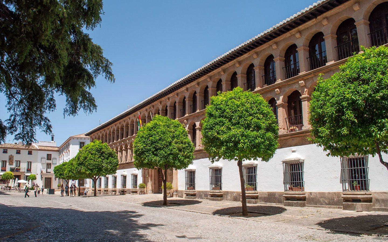 The Plaza Duquesa de Parcent in Ronda