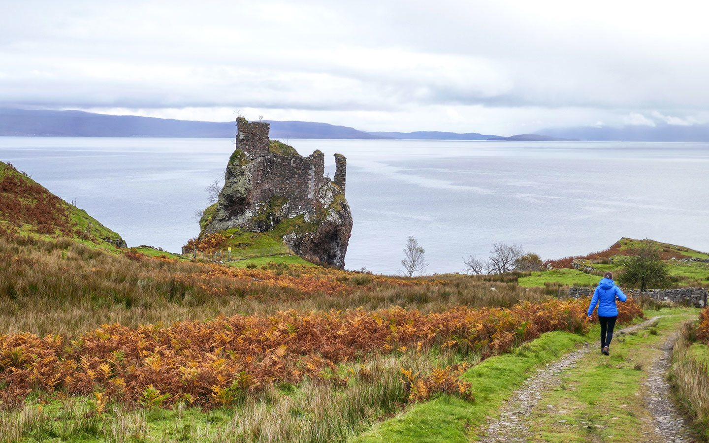 A day trip to Raasay from the Isle of Skye, Scotland