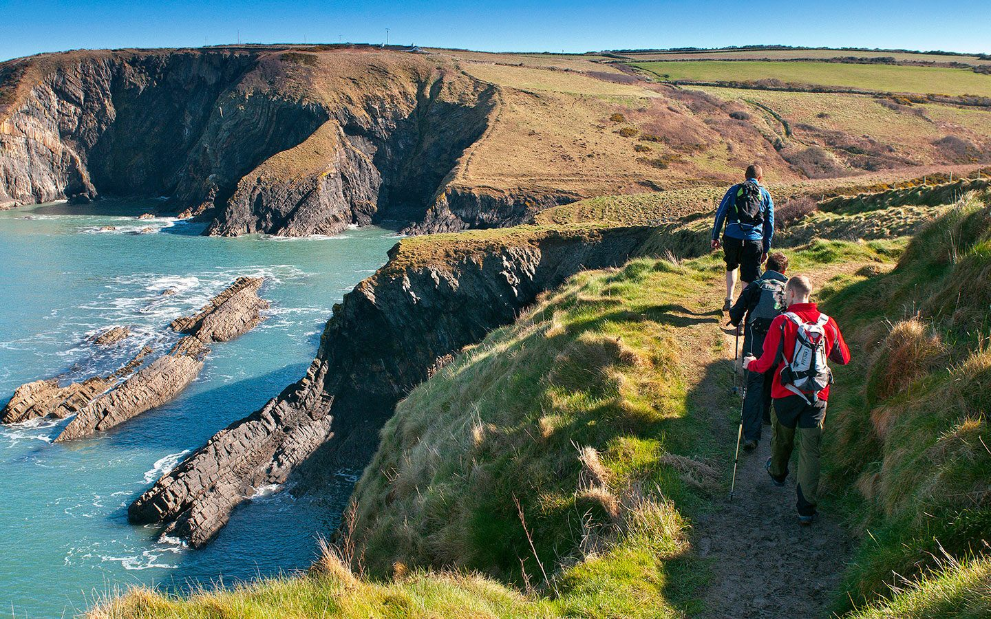 Pilgrimage Walks in West Wales along the Pembrokeshire Coast Path