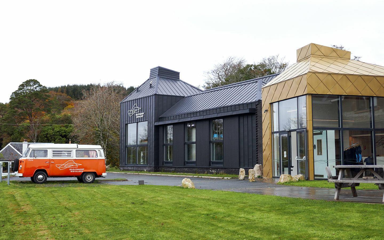 The Isle of Raasay Distillery buildings