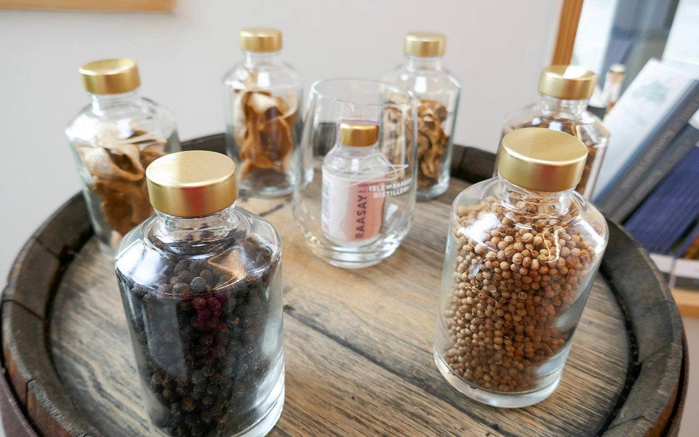 Botanicals for Raasay gin from the Isle of Raasay Distillery