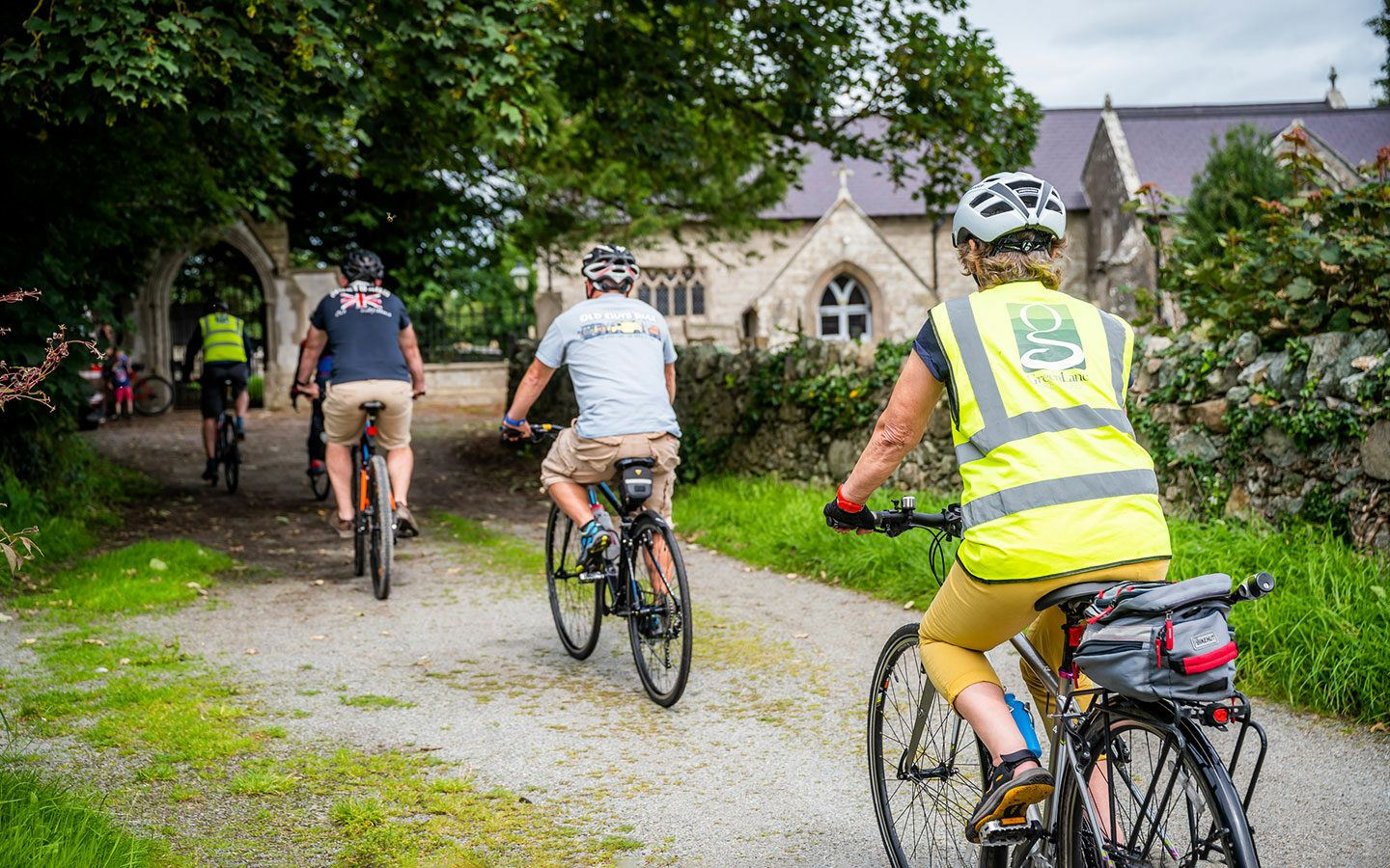 Cycling on Anglesey in Wales