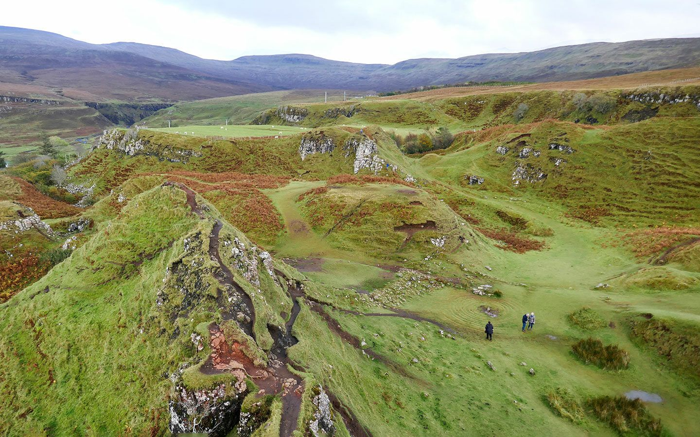 The Fairy Glen on the Isle of Skye