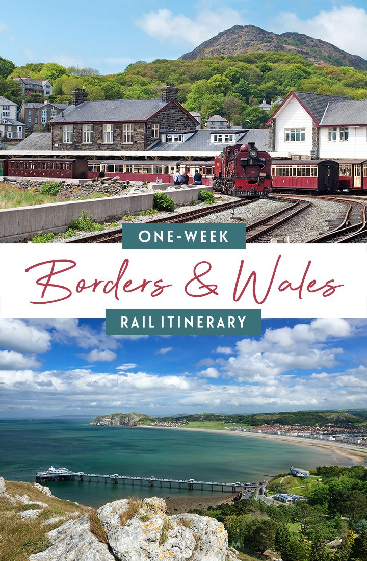 One-week Borders and Wales by train itinerary from Cardiff to Chester, with what trains to take, how much they cost, how to book and what to see along the way | Wales rail itinerary | Wales by train | Wales and the Borders | Wales train trip