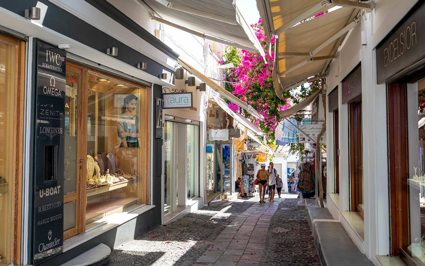 Shopping in Santorini, one of the best things to do in Fira