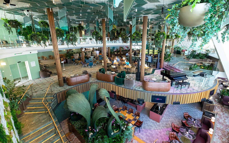 Eden – a new three-storey space on board Celebrity Apex