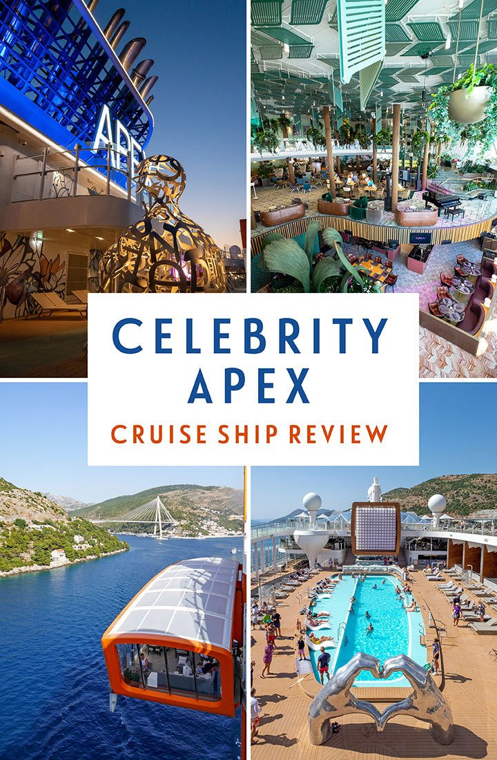 A guide to Celebrity Apex – a review of the latest Edge Class ship in Celebrity Cruises fleet with a Celebrity Apex ship review, covering facilities, staterooms, food, drink, entertainment and more | Celebrity Apex review | Celebrity Cruises Apex | Cruise ship review